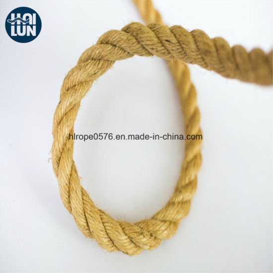 Customized China Factory Direct Supply Twist Sisal Rope for Marine