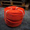 Orange 3strand Polyethylene PE Plastic Rope
