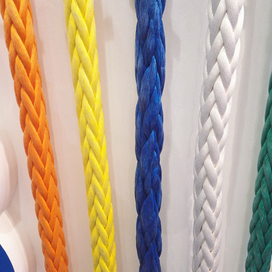 Good Strength Anti-UV Colourful UHMWPE Rope