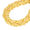 8 Strand White Yellow Polypropylene&Polyester Mixed Rope