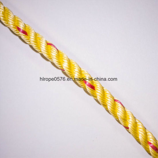3inch 25mm 3 Strands Polypropylene Rope PP Rope
