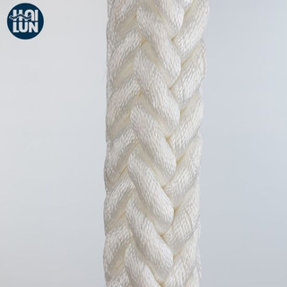 8-Strand Chemical Fiber Ropes Mooring Rope Polyester Rope Marine Rope