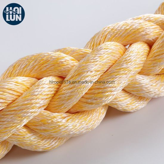 High Density Polypropylene and Polyester Mixed Rope