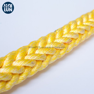 3/8/12 Strand Polypropylene Polyester Mixed Rope for Mooring and Marine