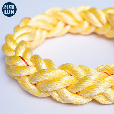 High Strength 3/8/12 Strand PP Polypropylene Polyester Rope for Mooring and Marine