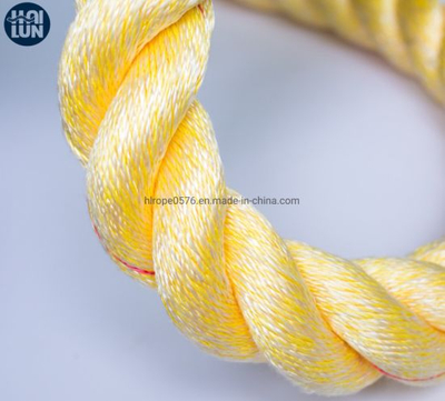Professional Factory Mixed PP and Polyester Ropes for Fishing