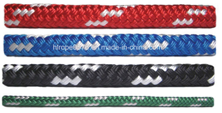 8/12 Strands Red Blue Black Green Braided Nylon Rope