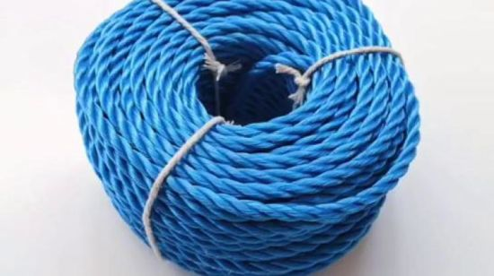 3 Strand 8strand 12 Strand Mooring Polypropylene Twisted Rope for Ship