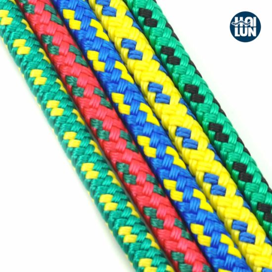 Hot Selling Colourful Polyester Rope for Fishing