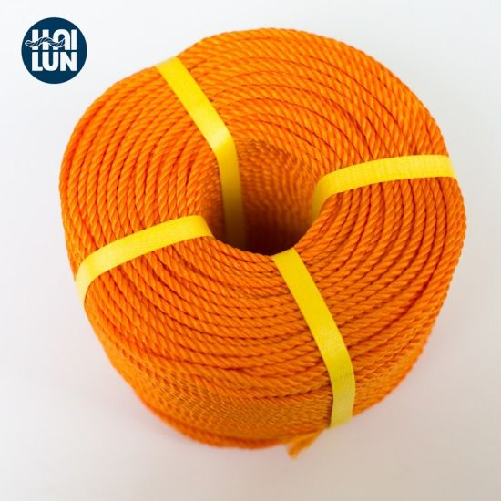 3 Strand Marine PE Rope for Mooring and Fishing