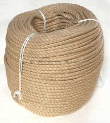3-Strand 8mm Synthetic Hemp Rope Sold on a Bulk Coil of 220m.