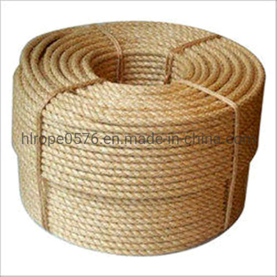 100% Natural Fiber Twist Sisal Rope