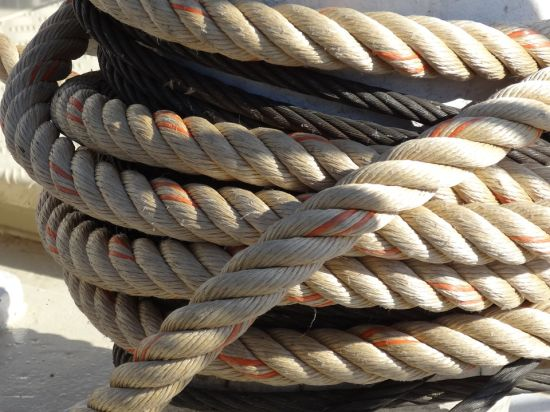 High Strength PP Mooring Ropes for Ship