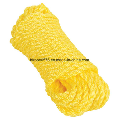 Three Strands of Polypropylene Filament Quality Certification Mooring Rope
