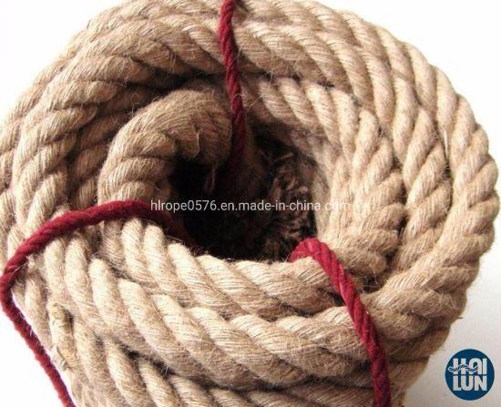 Customized China Factory Twist 3/4 Strand Sisal Rope