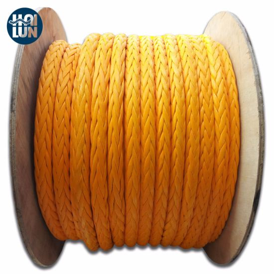High Quality with High Breaking Strength Hmwpe Rope