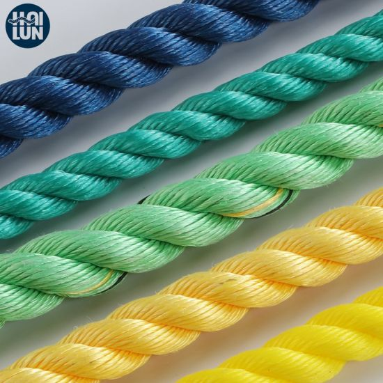 China Factory 3 Strand PP Danline Rope in Good Quality