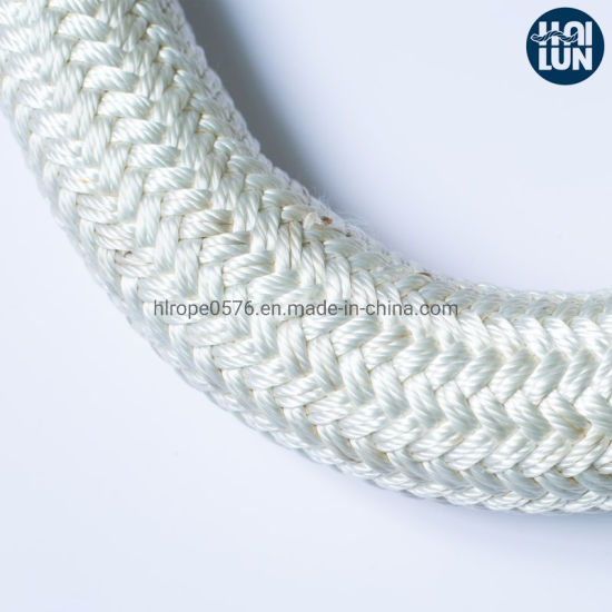 Factory Wholesale Polyester Double Braided Mooring Rope