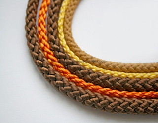 Polyester Double Strands of Rope Mooring Rope