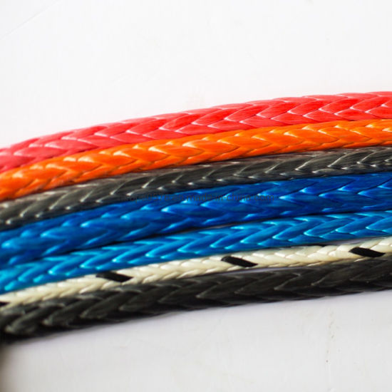 High Quality 12 Strand Hmpe/UHMWPE Rope