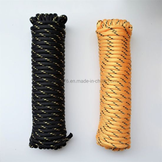 Heavy Duty 1/2 in. X 100 FT. Diamond Braided Polypropylene Rope PP Boat Rope Sailing Camping Clothes Line Securing Line