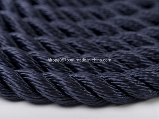 Factory Wholesale 8 Strand Polypropylene /Polyester /Nylon Twisted Mooring Rope