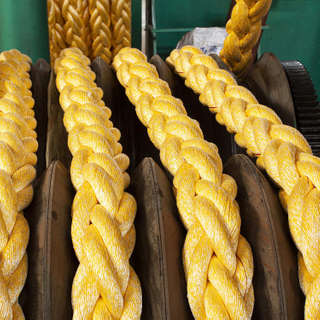 3/8 Strands PP and Polyester Mixed Ropes with High Resistance