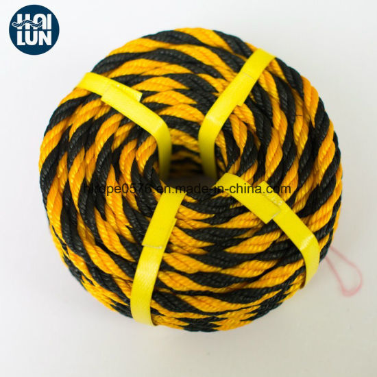 3/8 Strand Colorful Marine PE Rope for Mooring and Fishing
