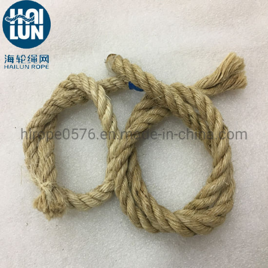 Twisted Sisal Rope All Natural Fibers/Bleached