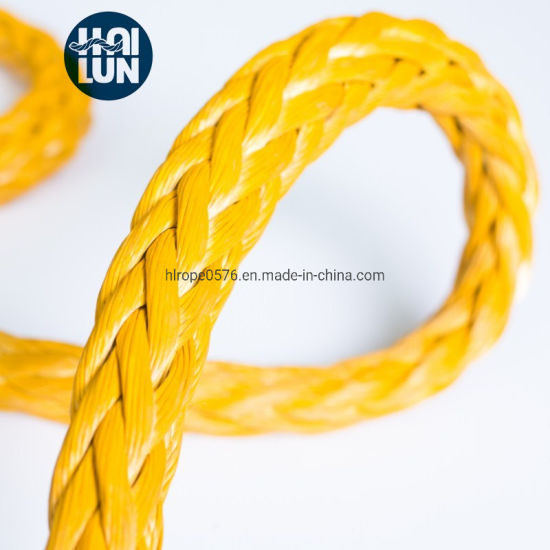 Hmwpe/Hmpe Rope Winch Rope UHMWPE Rope for Towing Rope