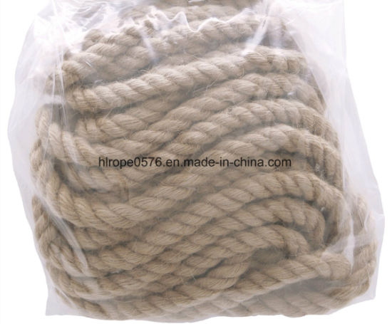 "Wrights 3/8"" Twist Jute Rope 6 Yds-Natural"