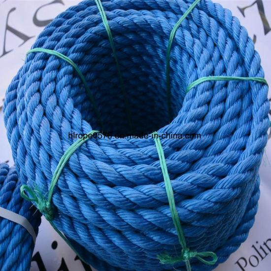 Blue Mooring PP Rope with ABS Certification