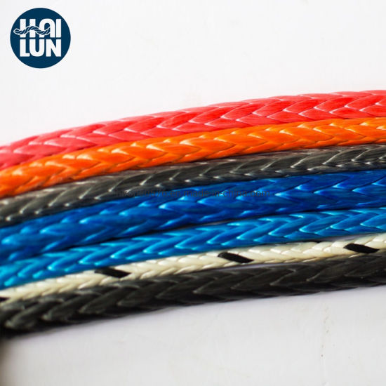 High Strength Blue UHMWPE Rope Towing Rope