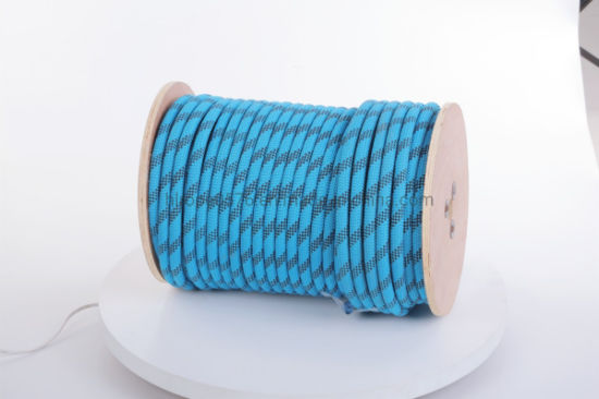 "5/16"" X 150 Feet Double Braided Polyester Rope, Blue"