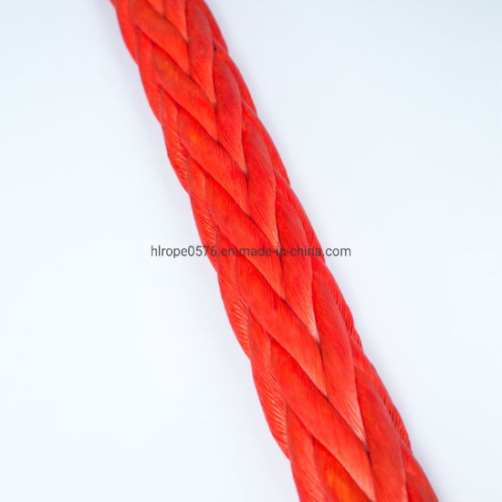12 Strand UHMWPE/Hmpe Rope Towing Rope