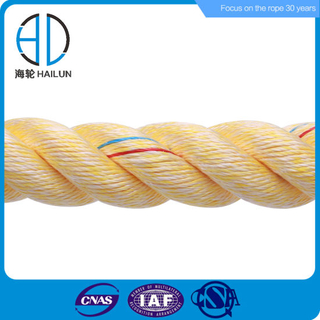 Impa Marine 3/8/12 Strand Mixed PP&Polyester Pet Mooring Rope for Vessel