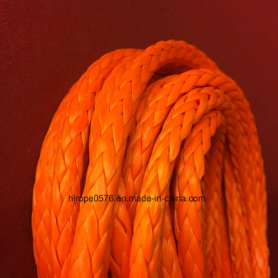 12 Strands UHMWPE Rope with Splice Eyes Both Ends