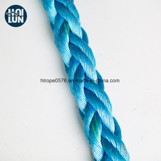Professional Factory Wholesale Blue Polypropylene Rope for Mooring