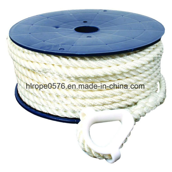 Direct 8mm Special Rope. Nylon Rope White Mooring Rope