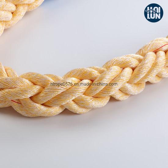High Quality Polypropylene and Polyester Mixed Rope Mooring Rope