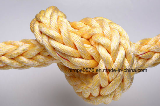 12 Strand PP Pes Mixed Marine Towing Ropes
