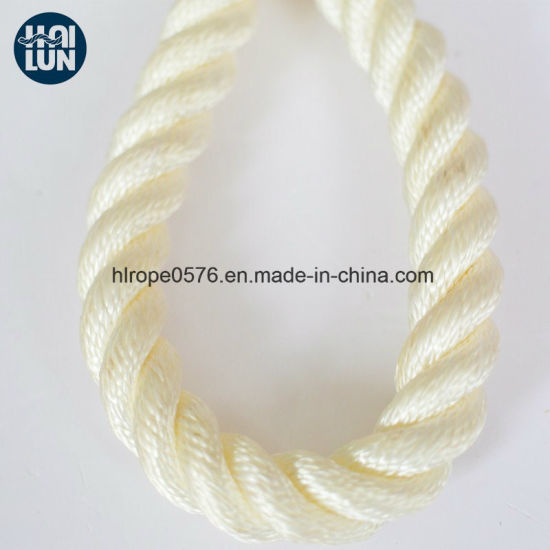 3/8/12 Strands PP Polyester Nylon Mixed Mooring Rope for Marine Fishing