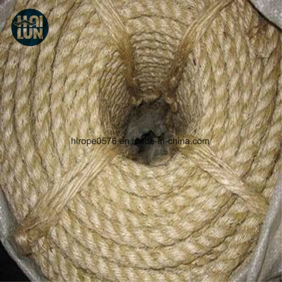 Professional Factory China Factory Direct Supply Twist 3/4 Strand Sisal Rope