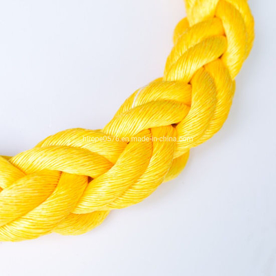 High Strength 8/12 Strand Hawser Polypropylene PP Mono Monofilament Marine Towing Rope
