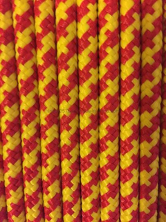 Polypropylene Floating Rope/Safety Line Braid on Braid English Braids 7mm