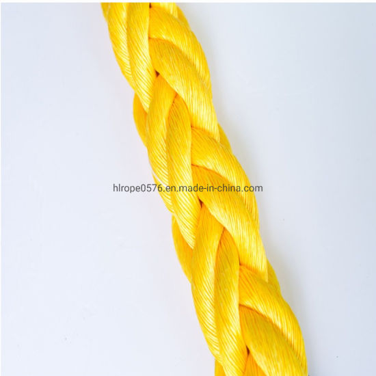 High Quality 8/12 Strand Hawser Polypropylene Polysteel Marine Towing for Mooring Rope