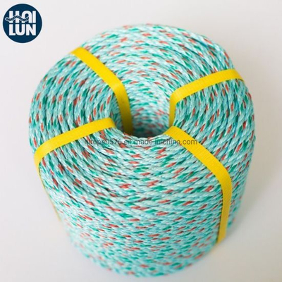 Colorful 3 Strand Twisted PP/PE Rope for Fishing Marine