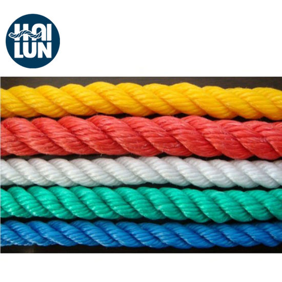 3-Strands PE Boad Rope Made From Virgin Material