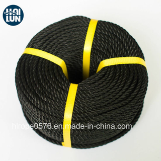 Excellent Quality 3-Strand PE Rope for Mooring and Fishing