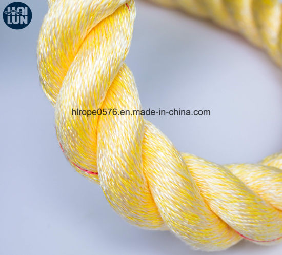 Polyester and Polypropylene Mixed Hawser Rope